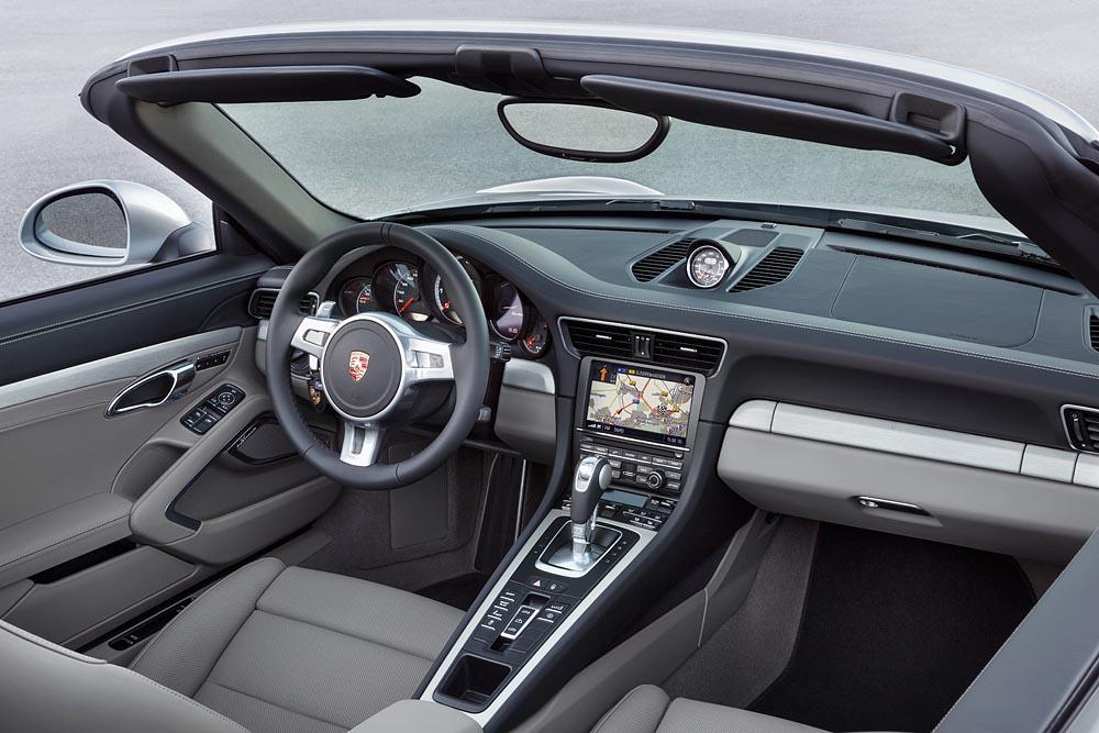 Porsche 911 Turbo Cabriolet Interior