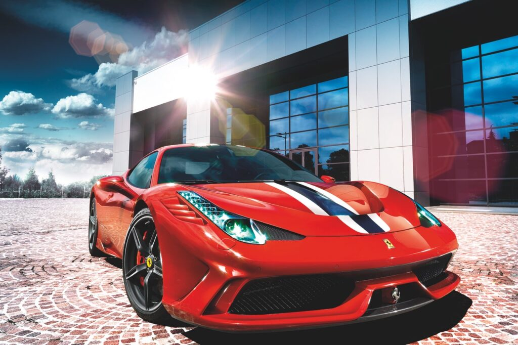 © The Pininfarina Book, Günther Raupp, published by teNeues, www.teneues.com. Ferrari 458 Speciale, 2014, Photo © G. Raupp