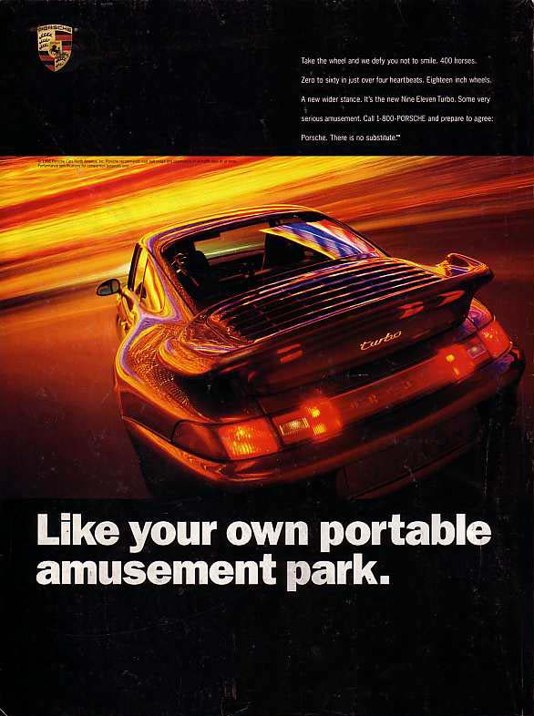 Porsche-911-Turbo-Amusement-Park-Ad